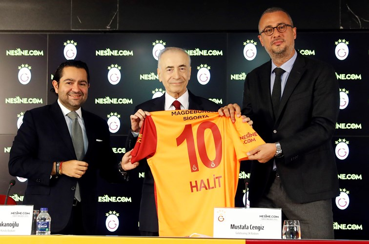 Galatasaray ile Nesine.com Arasında Forma Kol Sponsorluğu Anlaşması İmzalandı
