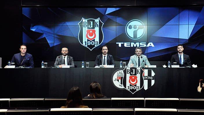 Temsa, Beşiktaş Aygaz Hentbol Takımı'nın Karayolu Ulaşım Sponsoru Oldu