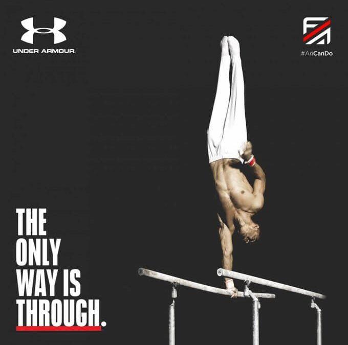 Under Armour, Milli Cimnastikçi Ferhat Arıcan'ın Sponsoru Oldu
