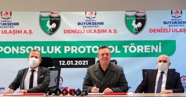 Yukatel Denizlispor, Ulaşım AŞ ile Sponsorluk Anlaşması İmzaladı