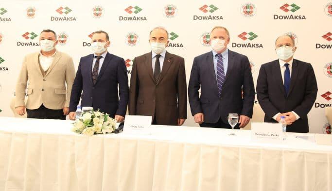 DowAksa, Yalovaspor ile 3 Yıllık Sponsorluk Anlaşması İmzaladı