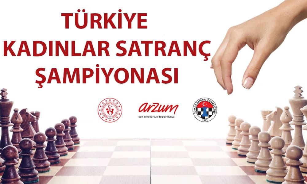 Arzum, Türkiye Kadınlar Satranç Şampiyonası'nın İsim Sponsorluğunu Sürdürdü