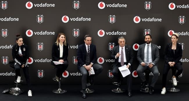 Beşiktaş Kadın Futbol Takımı, Vodafone ile Olan Sponsorluğunu Büyüttü