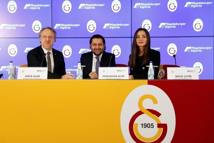 Magdeburger Sigorta, Galatasaray Kadın Basketbol Takımı'nın Forma Sırt Sponsoru Oldu