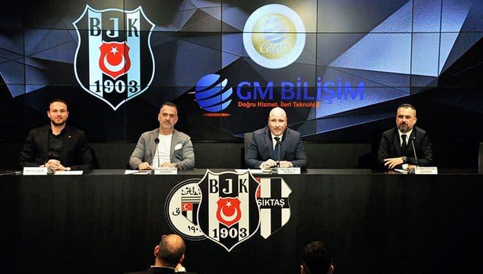 GM Bilişim, Beşiktaş Aygaz Hentbol Takımı'nın Forma Sırt Sponsoru Oldu