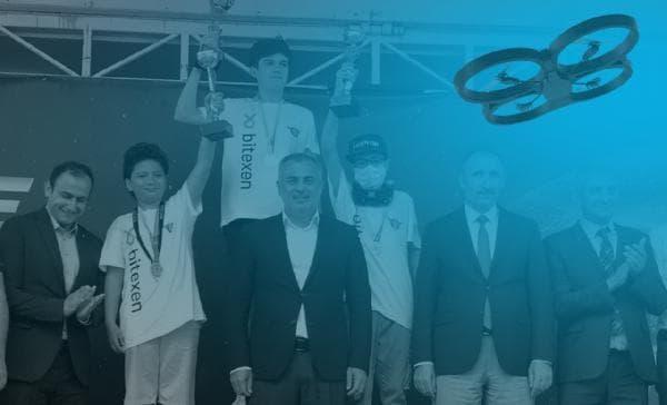 Bitexen, Drone Yarışçıları Spor Kulübü'ne sponsor oldu