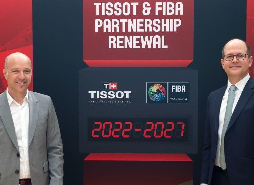 FIBA ve Tissot Sponsorluk Anlaşmasını 2027 Yılına Kadar Uzattı