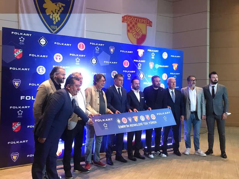 Folkart, İzmir Kulüpleri ile 20 Milyon TL Bütçeli Sponsorluk Anlaşması İmzaladı