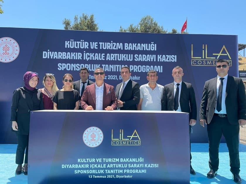 Lila Kozmetik, 'Amida Höyük' kazısı için 20 yıllık sponsorluk anlaşması imzaladı