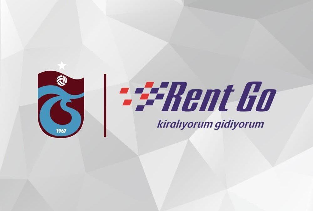 Trabzonspor'un Forma Şort Sponsoru Rent Go Oldu