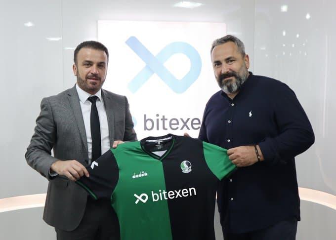 Bitexen Teknoloji, Sakaryaspor'un 3 Yıllık Forma Göğüs Sponsoru Oldu