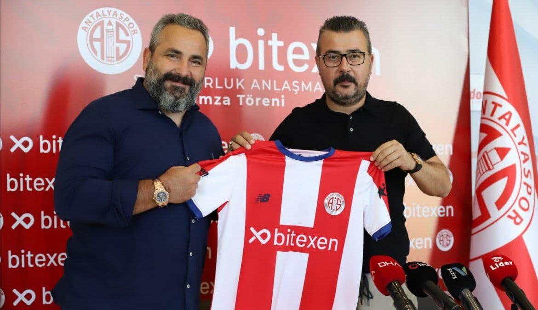 Antalyaspor, Bitexen Teknoloji ile 3 Yıllık Forma Göğüs Sponsoru Anlaşması İmzaladı