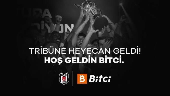 Bitci Teknoloji, Beşiktaş'ın 3 Yıl Boyunca Stadyum Tribün Sponsor Oldu