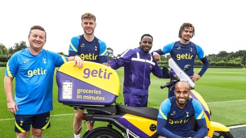Getir, Tottenham Hotspur'un ilk resmi 'Antrenman Forması Sponsoru' oldu