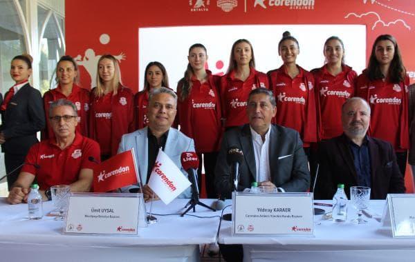 Corendon Airlines, Muratpaşa Belediyesi Kadın Voleybol Takımı Ana Sponsoru Oldu