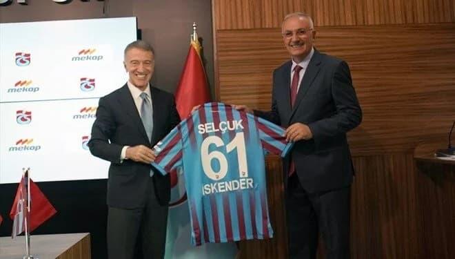 Trabzonspor ile Mekap arasında bir yıllık sponsorluk anlaşması yapıldı