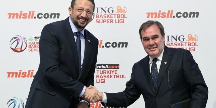"Türkiye Basketbol Ligi'nin İsim Sponsoru ""misli.com"" Oldu"